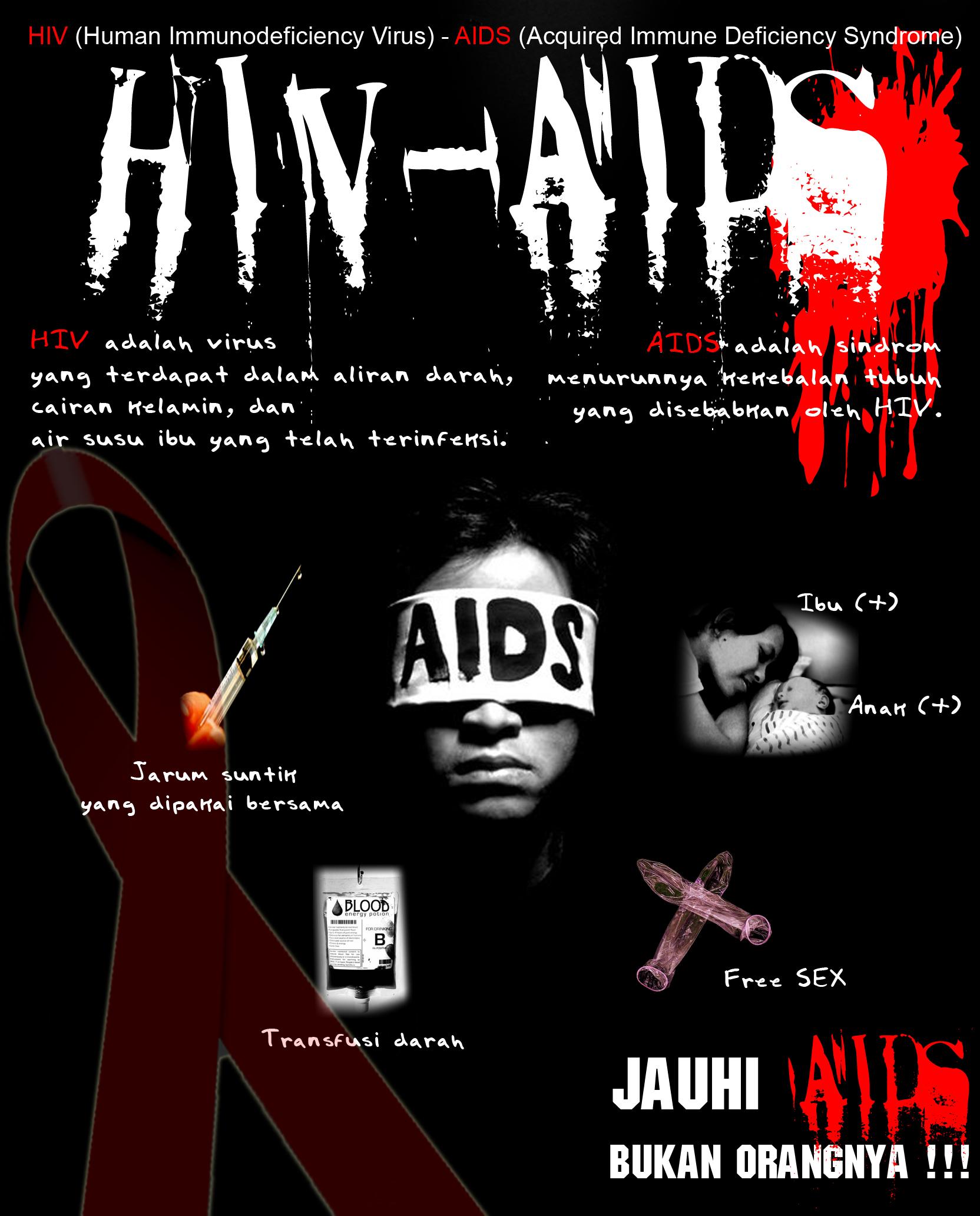 Hiv Aids Di Sekitar Kita Hamparan Ilmu